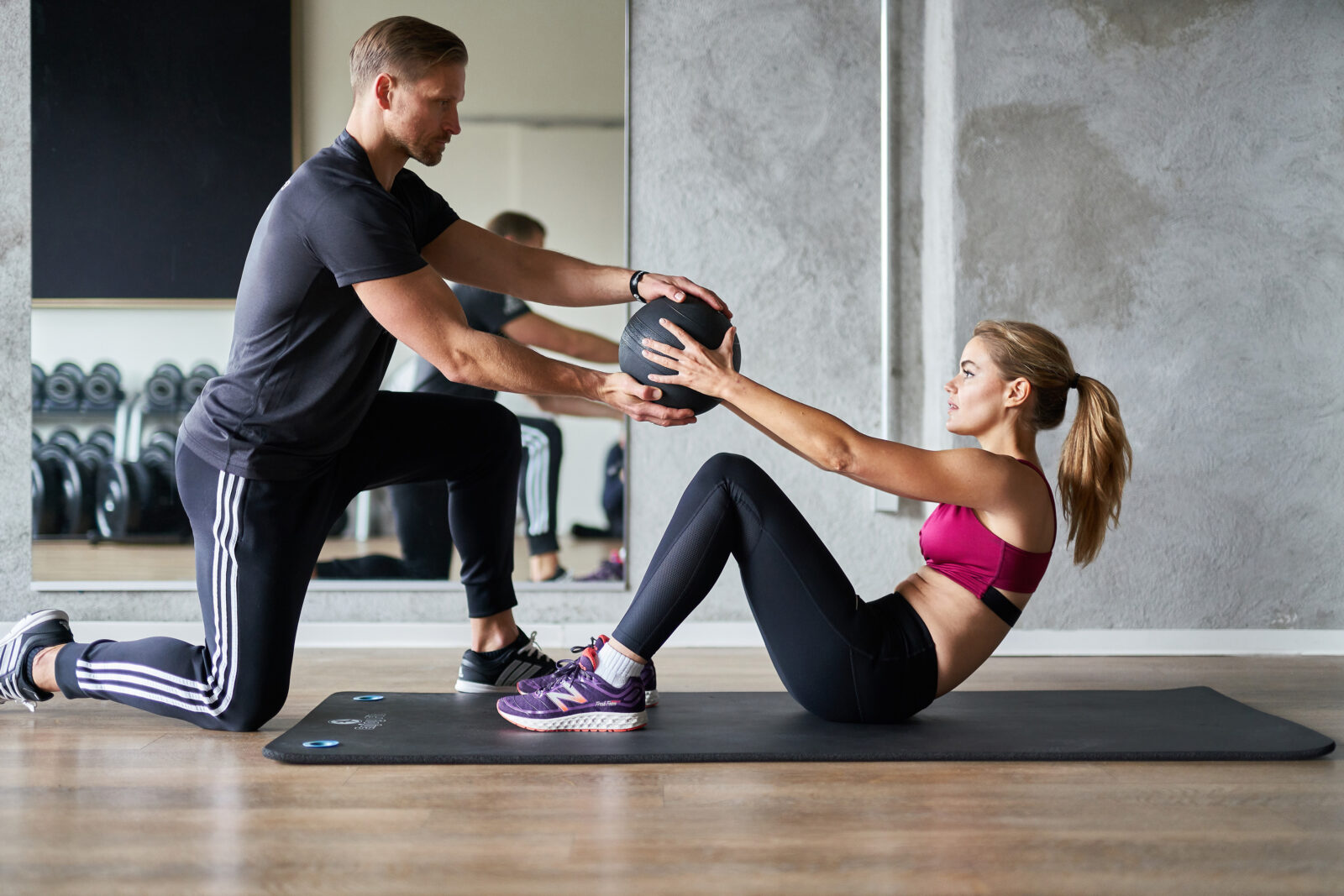 personal training courses male and female