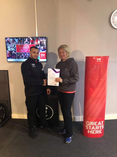 elite fitness education dw fitness first graduate